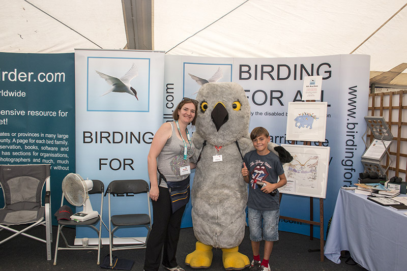 Toby meeting Henry Hen Harrier